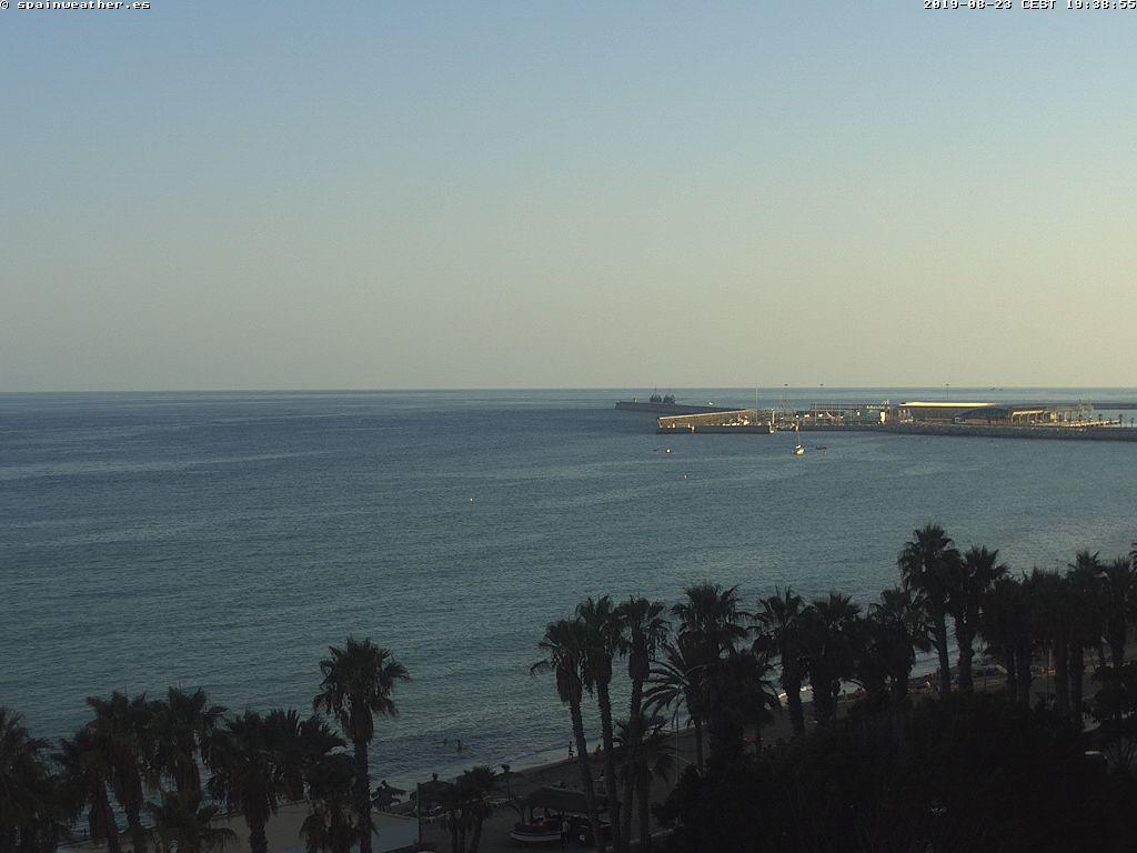 Malaga - Playa La Malagueta.