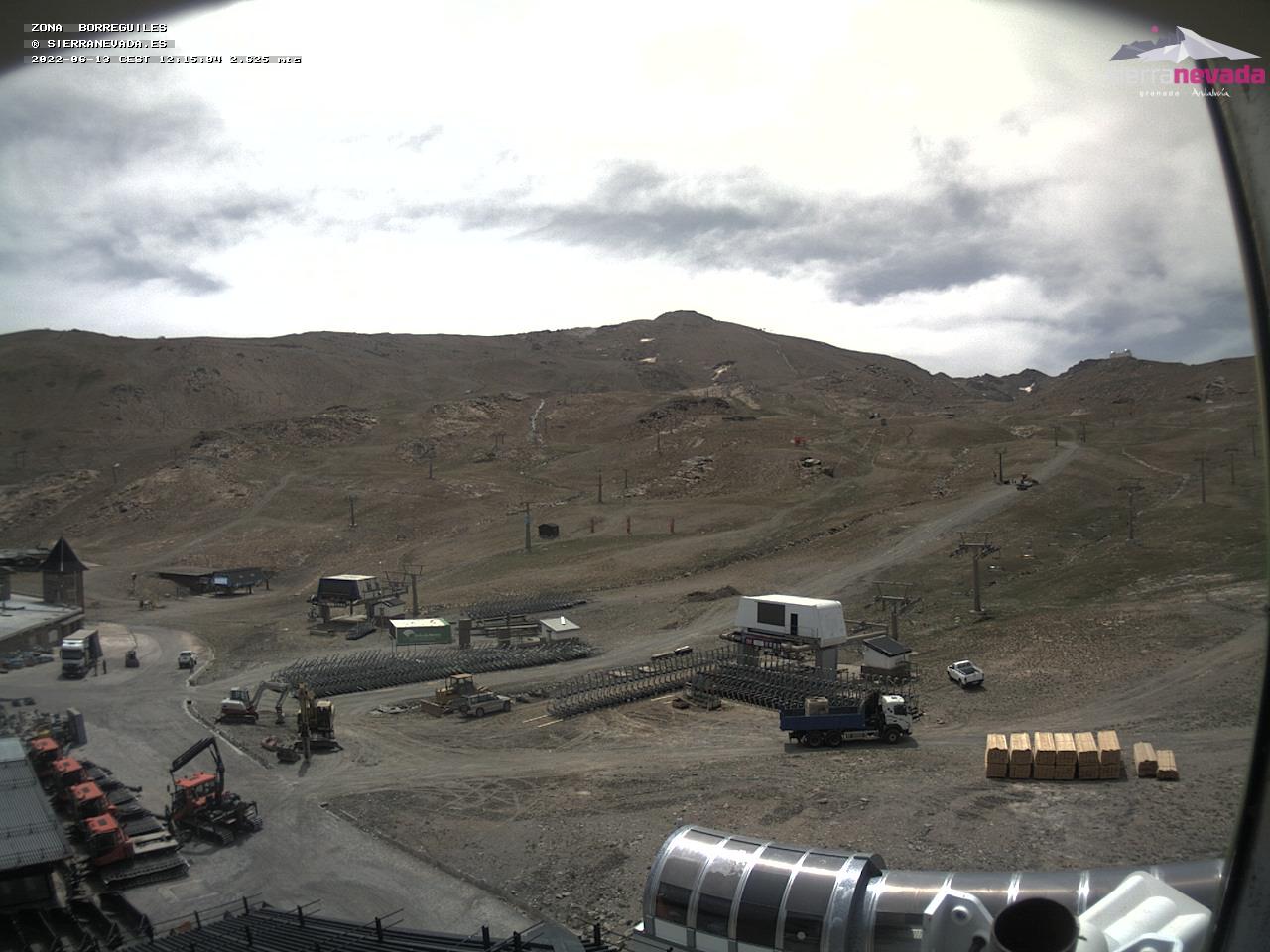 LIVE Webcam in Borreguiles - Sierra Nevada - Granada