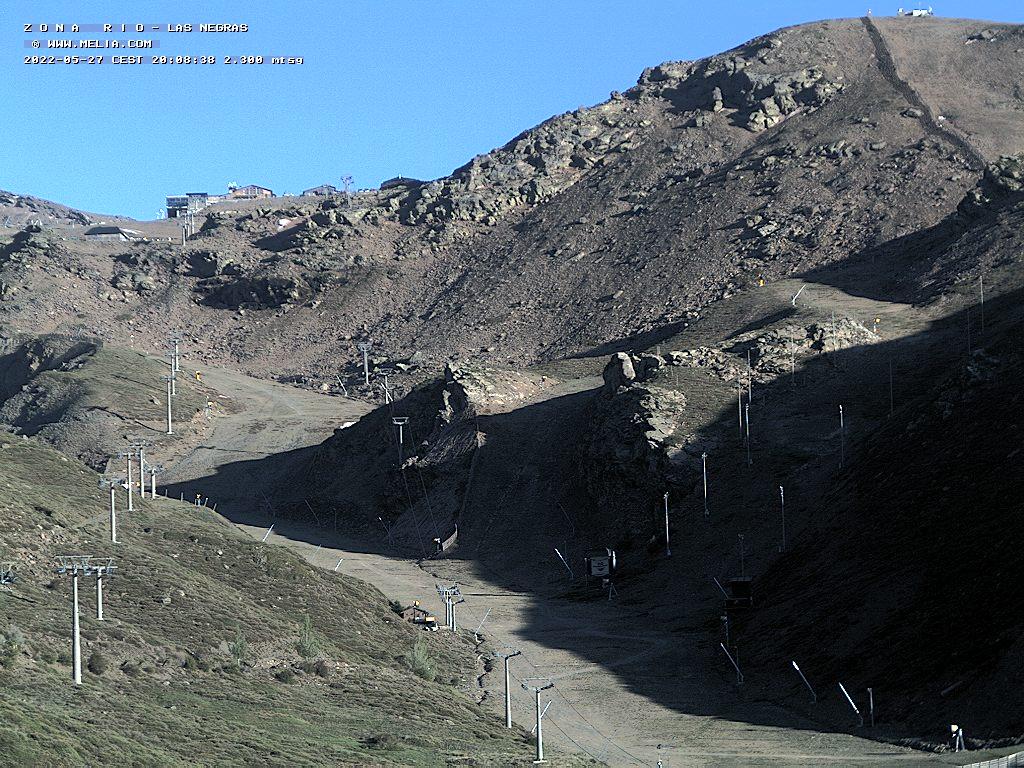 LIVE Webcam in Zona Rio - Las Negras - Sierra Nevada - Granada
