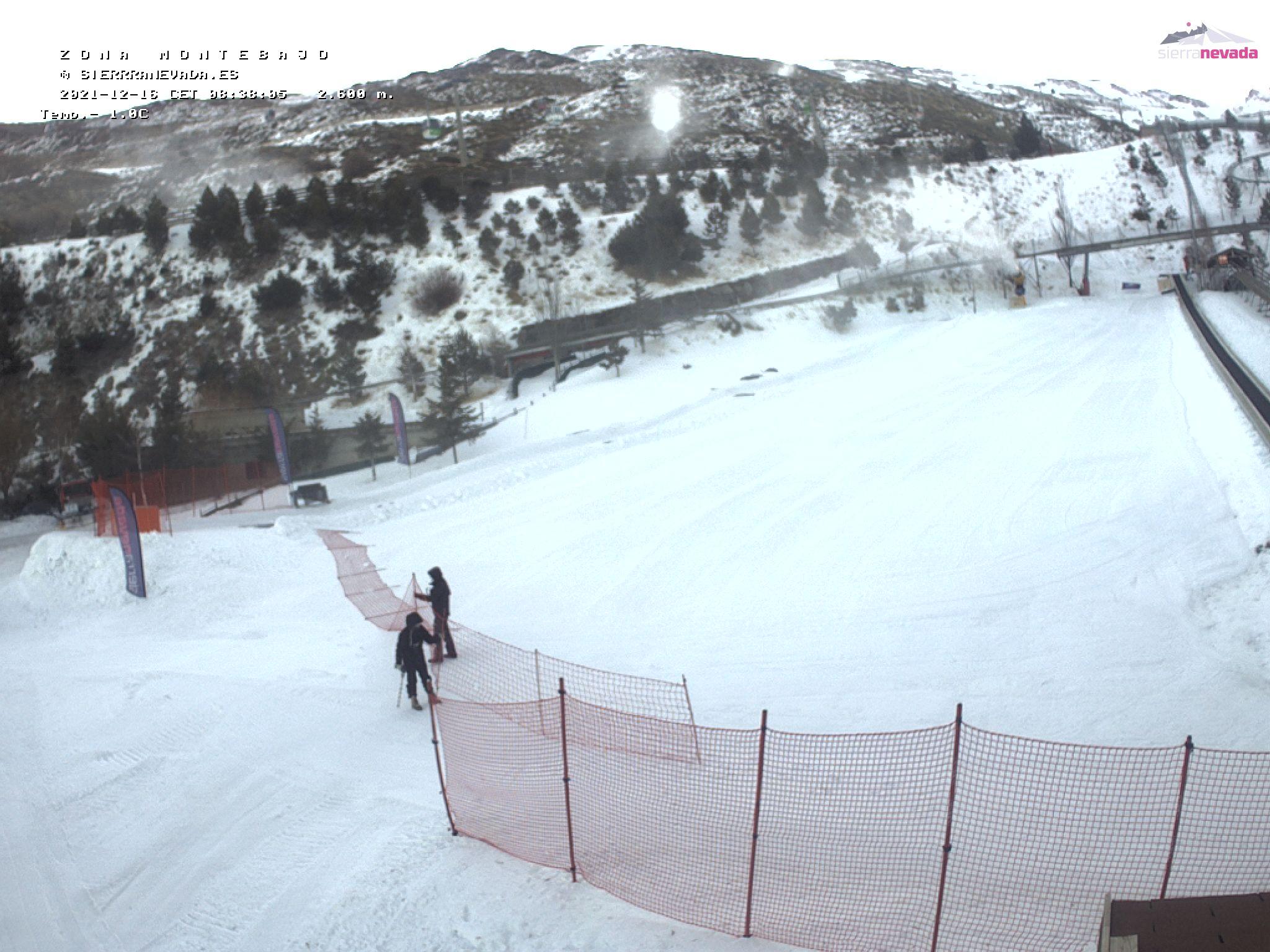 LIVE Webcam in Montebajo - Sierra Nevada - Granada